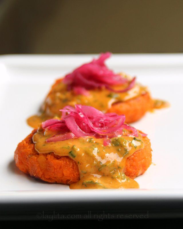 how to cook sweet potato patties
