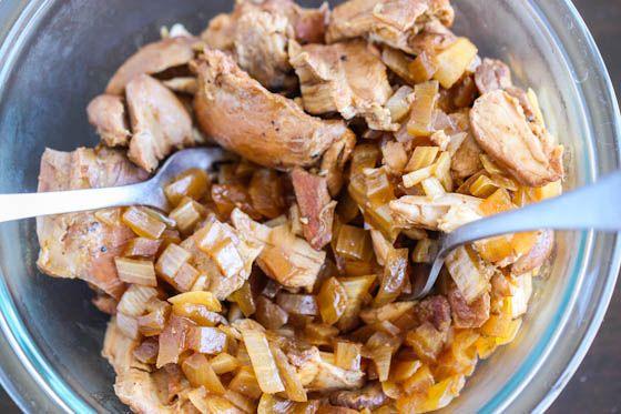 root beer pulled chicken-5699 | Sammie's | Pinterest