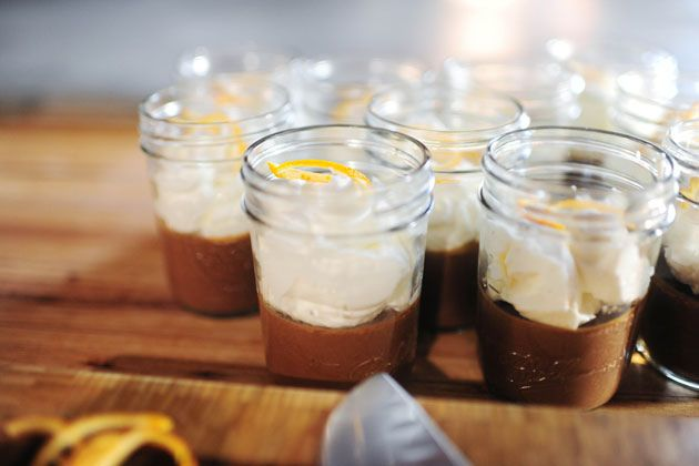 Pots de Creme a l'Orange... this looks so good, and can be made ahead ...