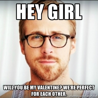 hey girl valentine edition