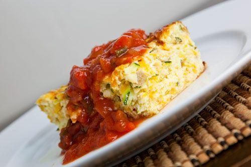 Zucchini and Green Chile Egg Breakfast Casserole | Recipe