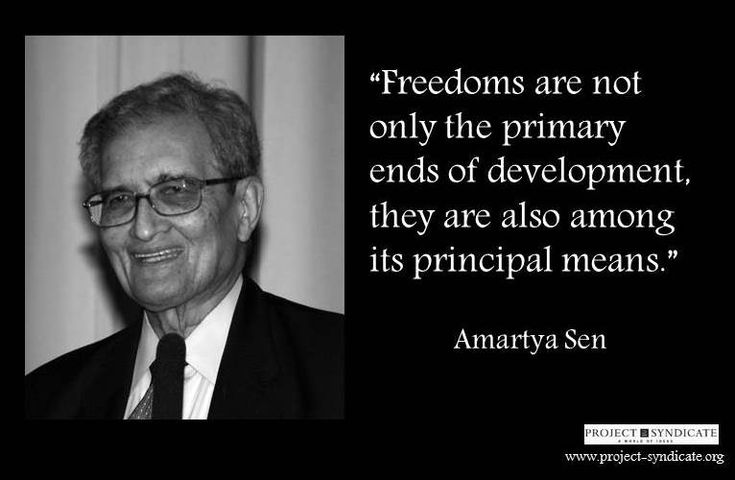 freedoms are not only the primary ends of development