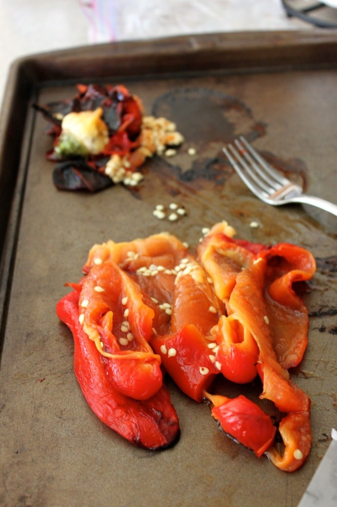 Roasted peppers | Vegetables are Good | Pinterest