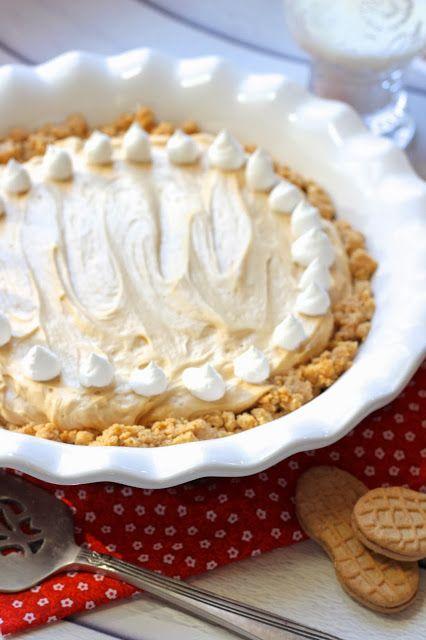 Peanut Butter Pie with Nutter Butter Crust