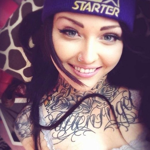 Neck chest tattoos tattoo ideas pinterest for Chest and neck tattoos