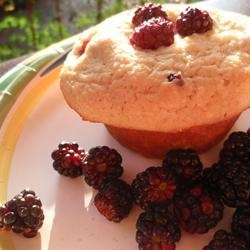 "Gluten-Free Blueberry Corn Muffins | ""Rice flour and cornmeal ..."