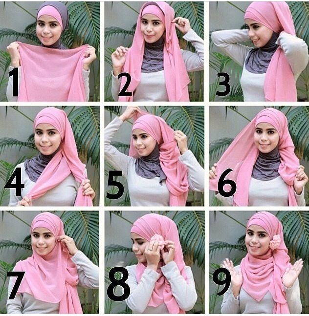 Из чего сшить хиджаб 76