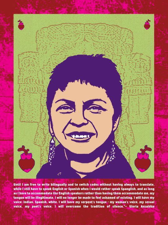 the homeland aztlan gloria anzaldua Context gloria anzaldúa is a chicana, feminist, and queer theorist who is most known for co-editing the volume this bridge called my back: writings by radical women of color (1981) with gloria anzaldúa, the homeland.