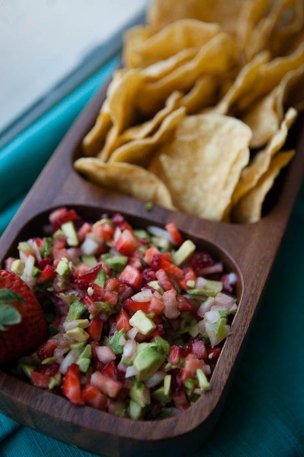Strawberry- Avocado Salsa