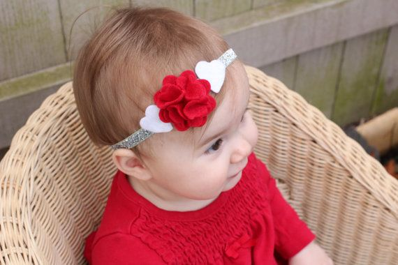 valentine heart headband