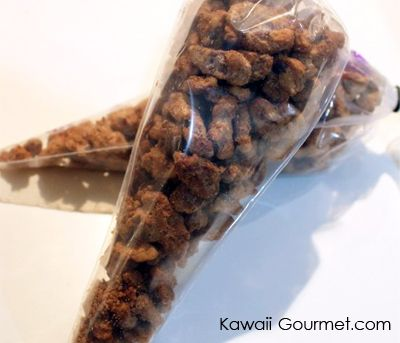 candied spiced walnuts | Kawaii Gourmet.com | Pinterest
