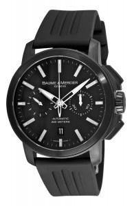 Baume Mercier Men's Chronograph Black Dial Watch