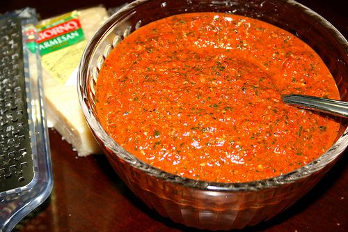 roasted red pepper pesto | Dips, Accompaniments,sauces&crackers | Pin ...