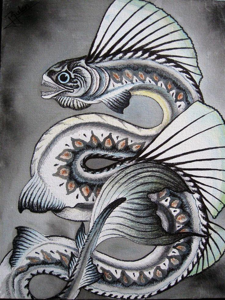 mythical sea creature ...
