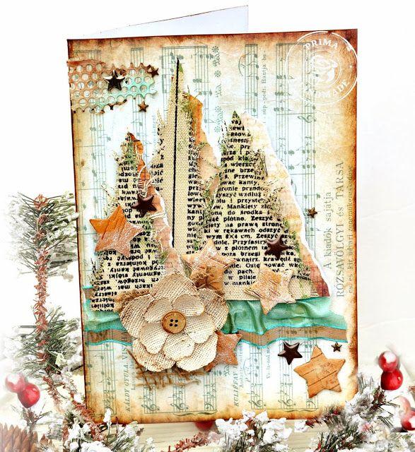 country Christmas - Prima Marketing DT - Scrapbook.com