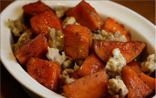 Roasted Sweet Potatoes With Five-Spice Powder Recipe — Dishmaps