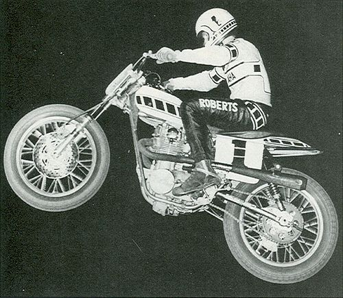 """The King"" Kenny Roberts"