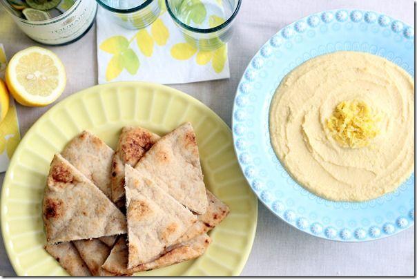 Lemon Garlic Hummus | Food (glorious food) | Pinterest