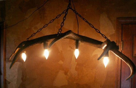 antler fixture bar lighting fixtures pinterest. Black Bedroom Furniture Sets. Home Design Ideas