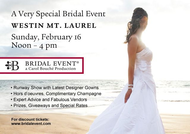 mount laurel bridal shows