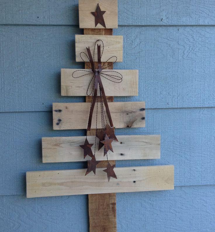 Primitive tree | Pallet crafts / by Freda Branson | Pinterest