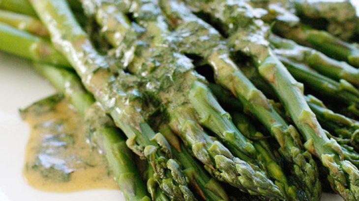Asparagus with Dijon Vinaigrette | sides/salads | Pinterest