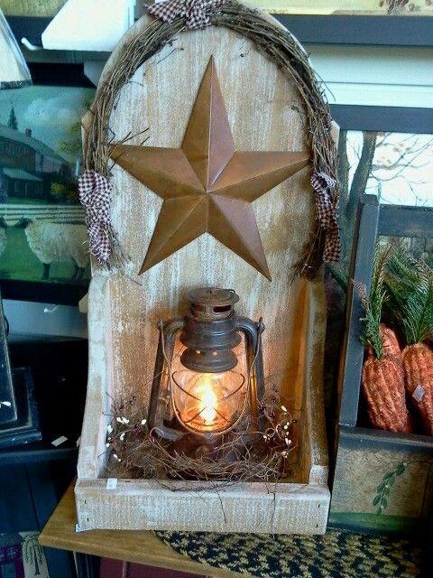 Lantern | Primitive Crafts & Decor | Pinterest