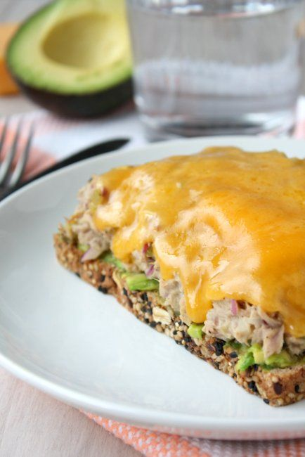 Tuna Melt, always a good dinner option. Use Homemade Mayo to make it ...