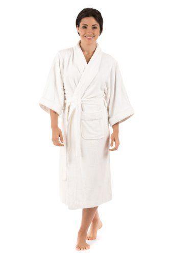 Long Terry Cloth Bath Robe