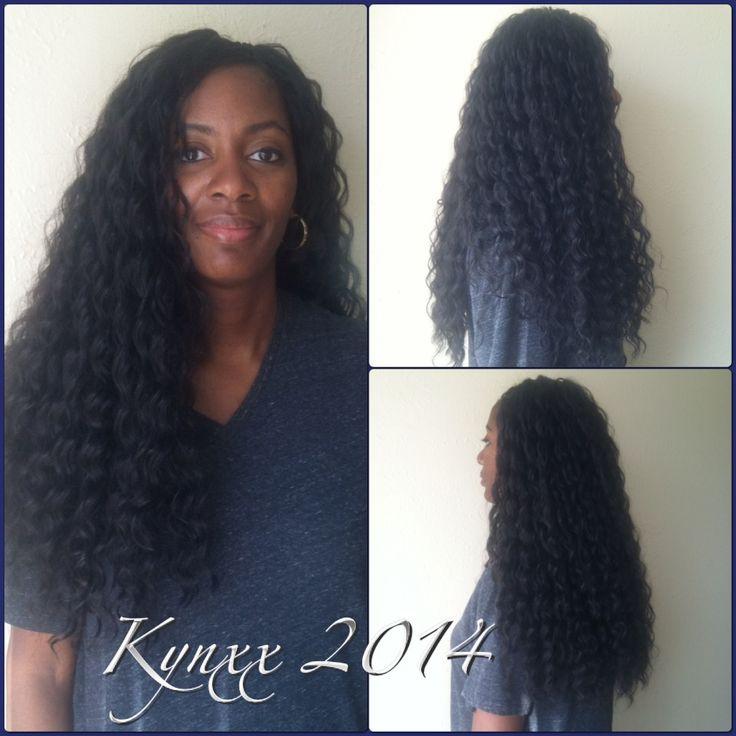 Crochet Hair Model Model : Model Model Deep Loose Wave crochet braids