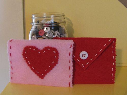 valentine's day envelope craft
