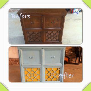diy furniture refinish