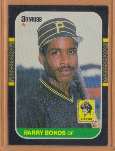 BARRY BONDS BASEBALL CARD | MOB_Baseball_Cards | Pinterest