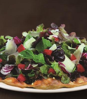 Tricolore Salad Pizza from California Pizza Kitchen