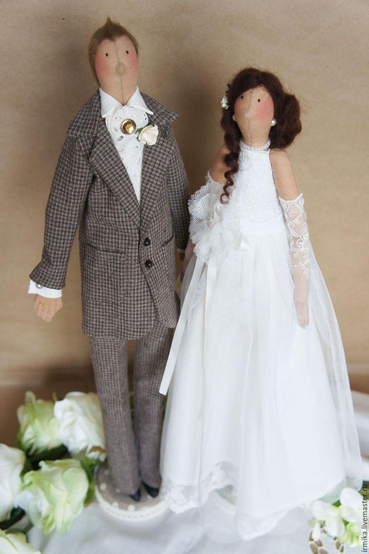 Своими руками невеста и жених кукла сшить 8