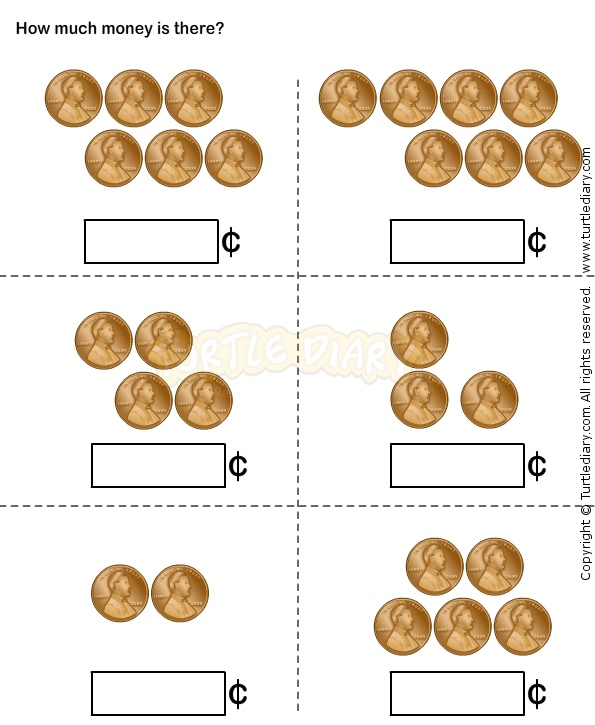 Money 11 - math Worksheets - kindergarten Worksheets | Money ...