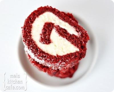 Red Velvet Cake Roll!! | Food Ideas | Pinterest