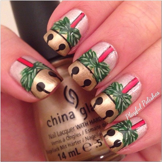 christmas by playfulpolishes #nail #nails #nailart