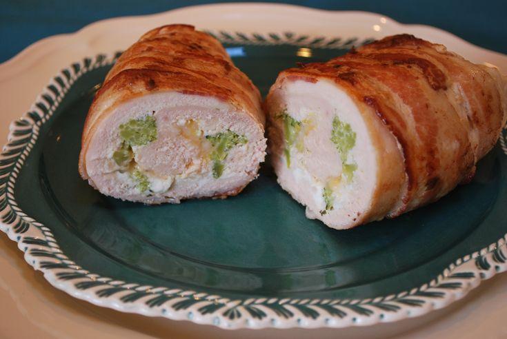 Broccoli And Cheese Stuffed Chicken Recipe — Dishmaps