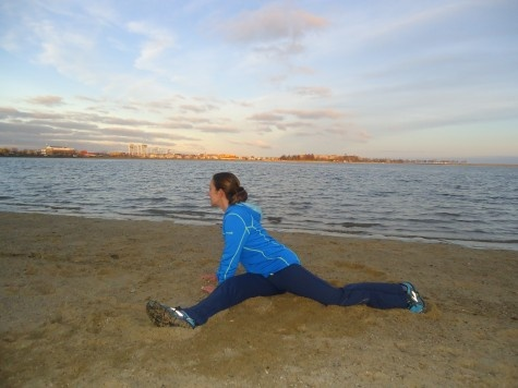Yoga poses for runners | Eat clean! Work out dirty! | Pinterest