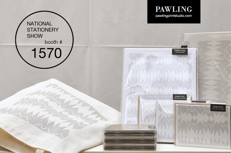 Pawling Print Studio is debuting at the 2012 NSS, May 20-23 at the Jacob Javits Center in NY. Find us at booth #1570!