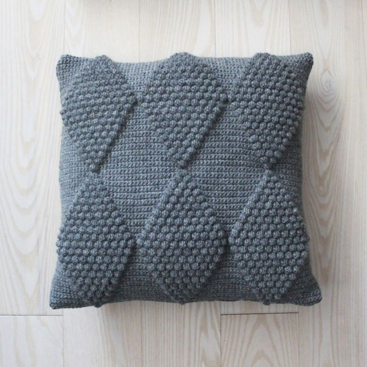 Crochet Stitches For Pillows : LUTTER IDYL Crochet Pillows with harlequin H?klede puder med ...