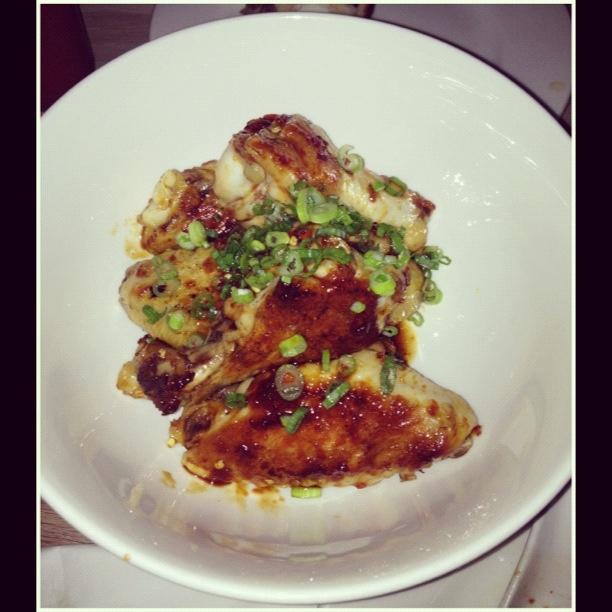 The Momofuku #toronto chicken wings...meh.