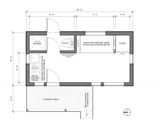 adu floor plan exteriors pinterest