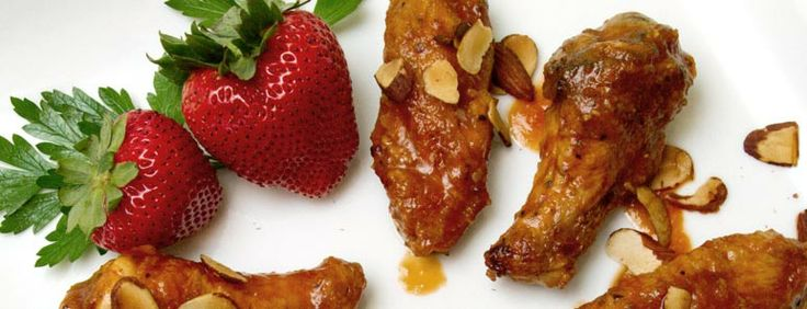 Strawberry Habanero Chicken Wings | Eat, drink and be merry | Pintere ...