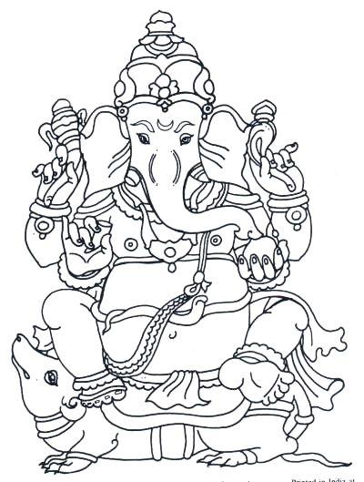 Line Art Ganesha : Ganesha line drawing lessons pinterest