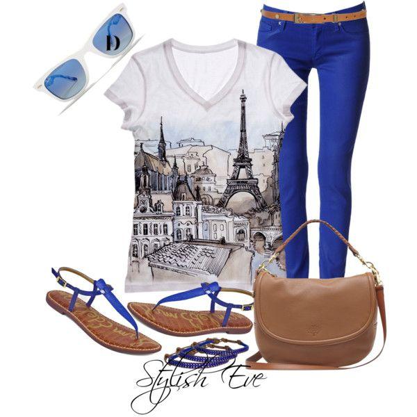 U0026quot;Blue Outfit!u0026quot; by stylisheve on Polyvore | Fashion | Pinterest