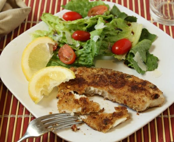 Pecan-Crusted Fish Recipe | Dinners | Pinterest