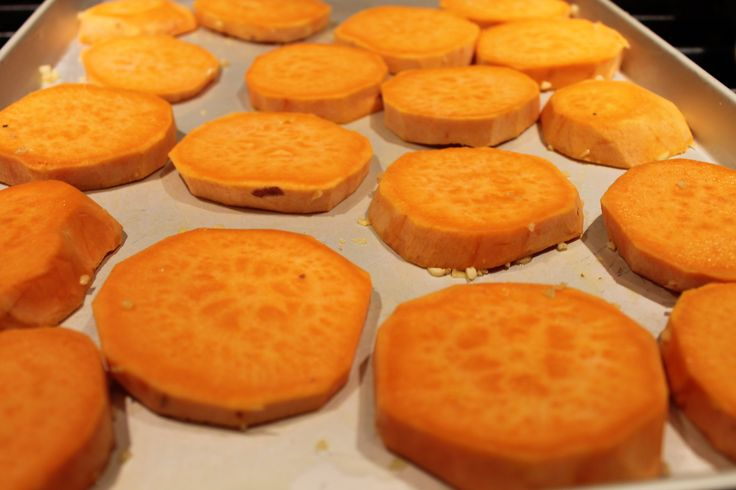 Roasted Sweet Potato Rounds | Vegetables and Sides | Pinterest