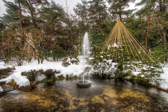 Kenrokuen Garden -- Kanazawa, Japan  Crazy About Japan  Pinterest